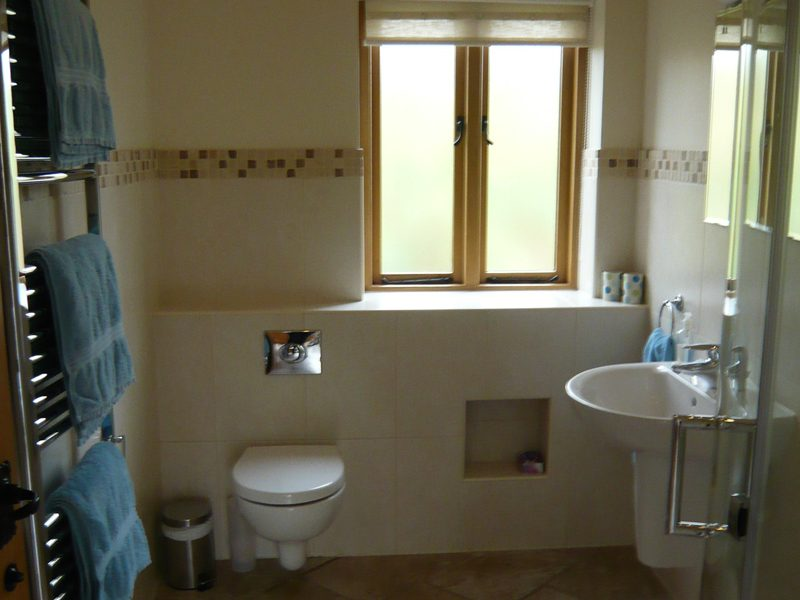 The Coach House shower room