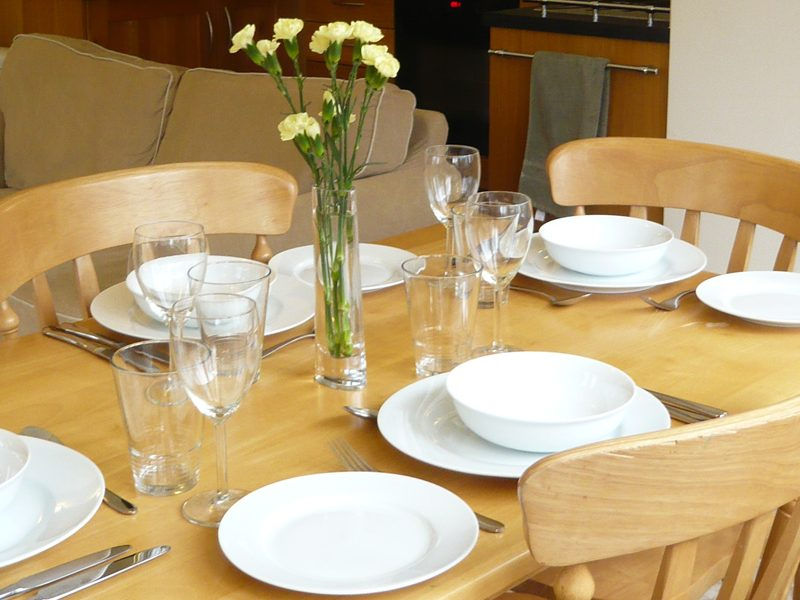 The Coach House kitchen diner