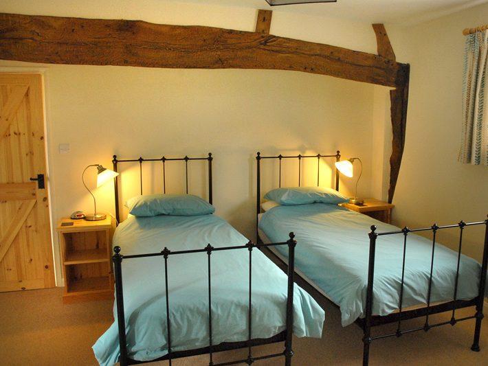 The Granary twin bedroom